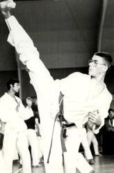 Van Damme training in his young years