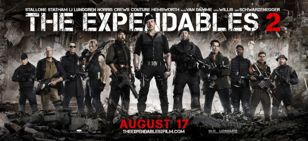 THE EXPENDABLES 2 All the Action Stars