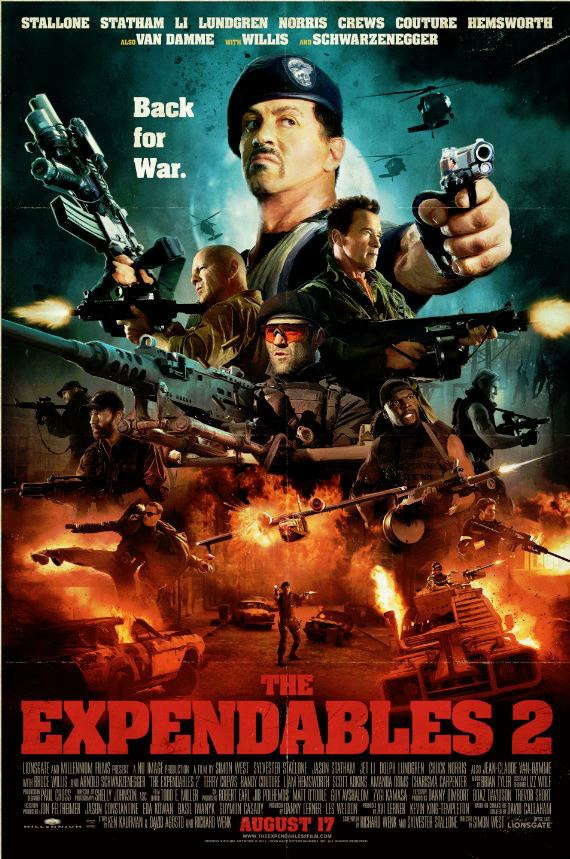 THE EXPENDABLES 2 new poster
