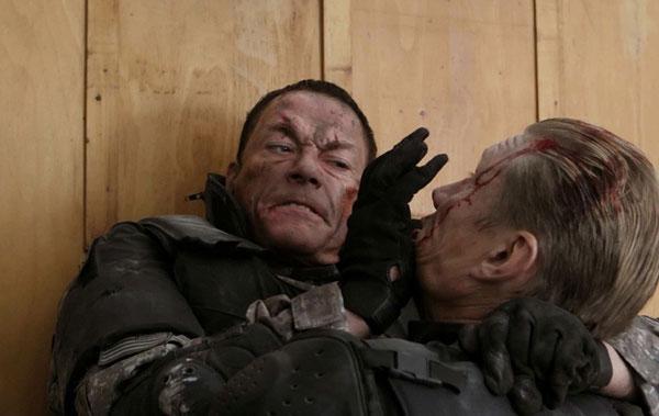 Jean-Claude Van Damme and Dolph Lundgren